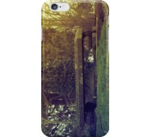 Lonely seat iPhone Case/Skin