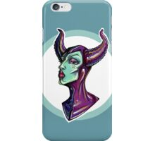 Lady of the Dark –Maleficent iPhone Case/Skin