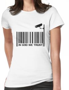 In God We Trust  Womens Fitted T-Shirt