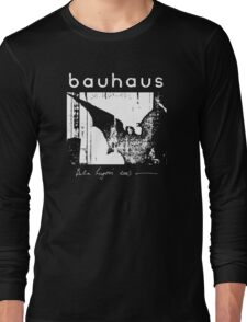Bauhaus - Bat Wings - Bela Lugosi's Dead Long Sleeve T-Shirt