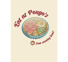 Eat at Ponyo's - We have HAM! Photographic Print