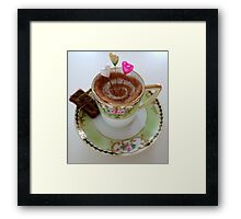 Tea time treat Framed Print