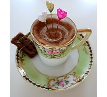 Tea time treat Photographic Print