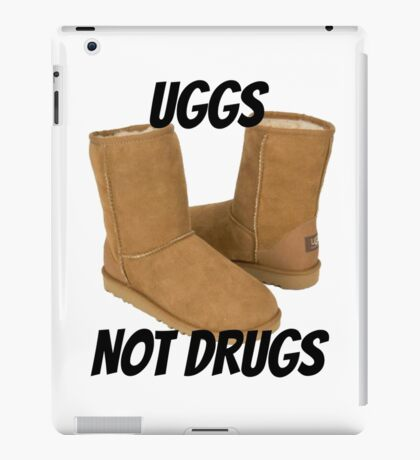 Uggs Not Drugs iPad Case/Skin