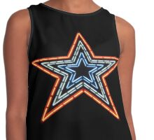 Neon Sign - Star Contrast Tank
