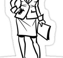 performance power woman Sticker