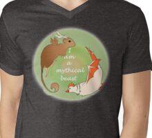 Good Mythical Morning Beast Mens V-Neck T-Shirt