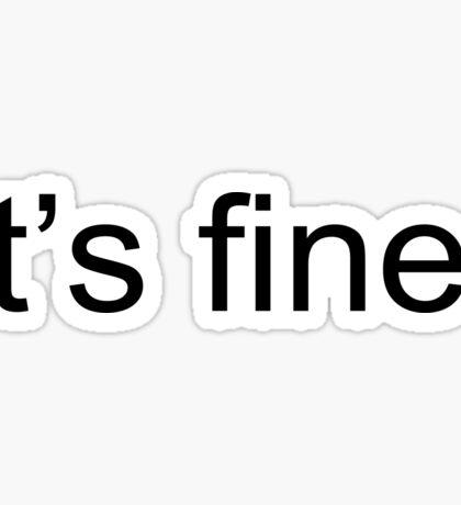 fine Sticker