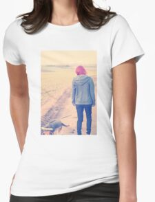 Countryside afar Womens Fitted T-Shirt