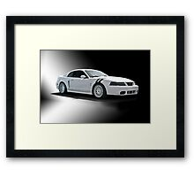 2004 Shelby Mustang III Framed Print