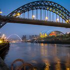 Tyne Bridges by David Bradbury