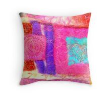 Inspired by Hunderwasser 3 Throw Pillow