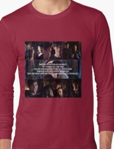 Malec - Symptoms Long Sleeve T-Shirt