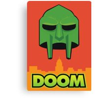 Doom  Canvas Print