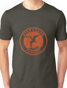 Pterosaur Fancier Tee (Orange on White) T-Shirt