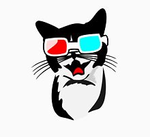 Cat with 3D Glasses Unisex T-Shirt