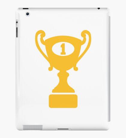 Champion winner trophy iPad Case/Skin