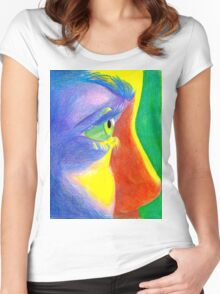 Sun and colors Women's Fitted Scoop T-Shirt