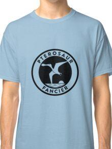Pterosaur Fancier Tee (Black on Light) Classic T-Shirt