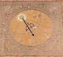 Sundial, solar clock. by FER737NG