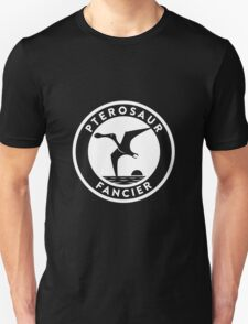 Pterosaur Fancier Tee (White on Dark) Unisex T-Shirt