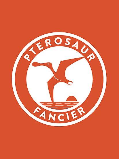 Pterosaur Fancier Print by David Orr