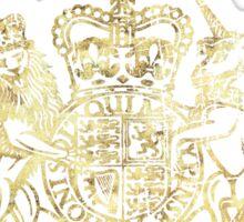 United Kingdom Passport Vintage Sticker