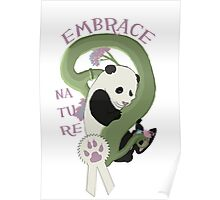 Embrace Nature Poster