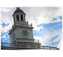 The clocktower Poster