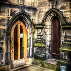 Two Doors and a Bucket by David Bradbury