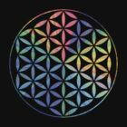 Flower of Life - Multi-Colour by Resonance Clothing