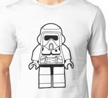 Star Wars Lego Scout Trooper Fan Art Design Unisex T-Shirt
