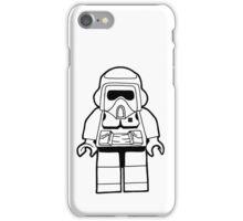 Star Wars Lego Scout Trooper Fan Art Design iPhone Case/Skin