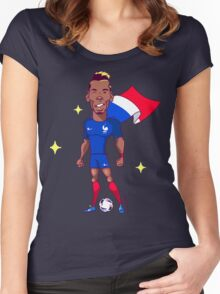Pogba (SuperEuros) Women's Fitted Scoop T-Shirt