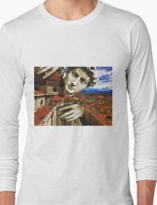 Curious David Long Sleeve T-Shirt