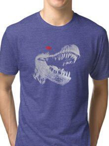 Cyborg T-rex Tri-blend T-Shirt