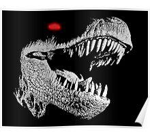 Cyborg T-rex Poster