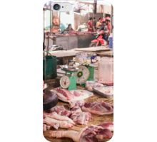 Butcher Shop Dien Bien Phu Vietnam iPhone Case/Skin