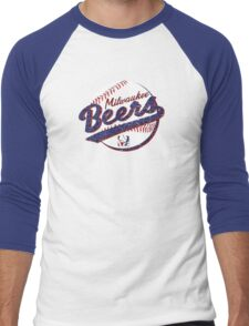 Milwaukee Beers Men's Baseball ¾ T-Shirt