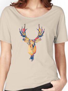 CYBORG DEER Women's Relaxed Fit T-Shirt
