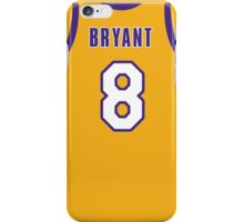 Kobe Jersey iPhone Case/Skin