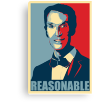 Reasonable Man Canvas Print