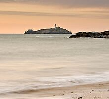 Godrevy Lighthouse, Cornwall, England by Davidpstephens