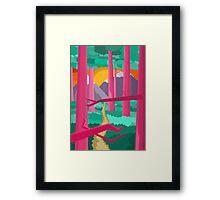 Jungle Feelings Framed Print