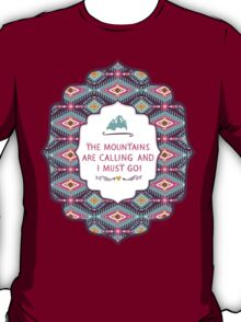 Navajo pattern with geometric elements T-Shirt