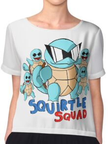 Squirtle Squad Chiffon Top