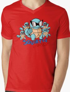 Squirtle Squad Mens V-Neck T-Shirt