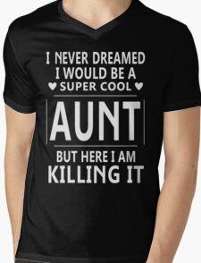 Super Cool Aunt T-Shirts & Hoodies Mens V-Neck T-Shirt