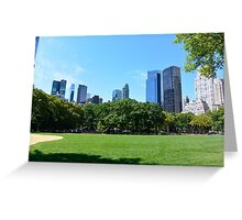 Central Park New-York Greeting Card