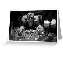 Dinner Time Greeting Card